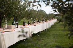 An Outdoor Reception at Ya Ya Farm and Orchard