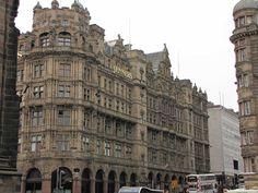 Jenners Depertment Store, Princes Street, Edinburgh, Scotland by SteveT
