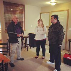 Condo inspection with my clients this morning. #realtorlife #homebuyers #realtor #realestateagent #bobbybrownandassociates #kellerwilliams #thecaffeinatedrealestateagent #homeinspection #piercecountyrealestate #condo #winter #puyallup #pnw