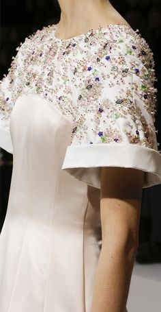 Christian Dior Haute Couture Spring 2013 - Details
