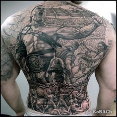 Badass backpiece by Alexandr Kosach...