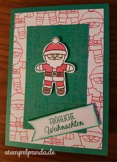 Stampin Up, SU, Herbst Winter 2016, Weihnachten, Ausgestochen weihnachtlich, Cookie Cutter Christmas, Weihnachtspotpourri, Merry Medley, Stempelpanda