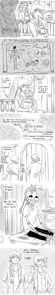 Cybertale Part 3 by Ethai on DeviantArt