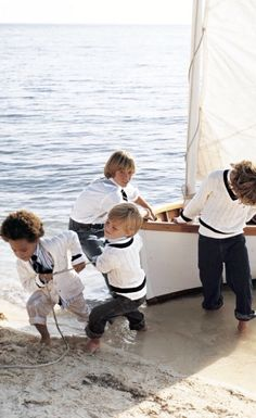 Ralph Lauren nautical inspired knits