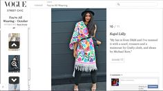 Crafty Cloth featured on Vogue!!