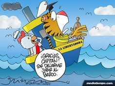 El Marinero y el Capitán - Gabriel - mediotiempo.com
