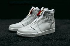 ee469e4383844a How Do You Like The Air Jordan 1 High Zip White  A brand new women s