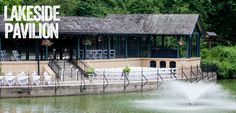 Our beautiful Lakeside Pavilion comes with a built in rain plan! How many outdoor venues can guarantee that?
