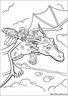 Shrek/Shrek 2 Coloring Pages | Tying The Knot | Pinterest | Shrek ...