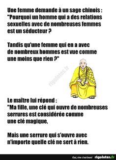 Une femme demande à un sage chinois... - RIGOLOTES.fr