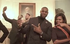 WASHINGTON-- The Cleveland Cavaliers are the latest to join in on the mannequin challenge, and they had a special guest.  The 2016 NBA Champions stopped by the White House on Thursday to meet President Barack Obama and First Lady Michelle. But in between the speeches and the photos, the team pressed pause.
