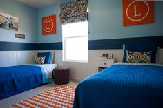6th Street Design School: Feature Friday: Budget Wise Home. quilts from target....