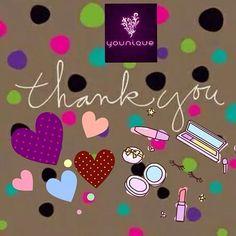 Younique Thank you https://www.BeautifulLifeStylesbyKimmie.com