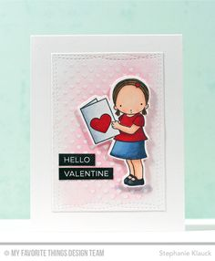 I Heart You, Label Maker Love, Mini Hearts Background, I Heart You Die-namics, Wonky Stitched Rectangle STAX Die-namics - Stephanie Klauck  #mftstamps
