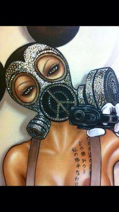 Black Love Art, Black Girl Art, Art Girl, Arte Dope, Dope Art, Arte Black, Trill Art, Art Et Design, Dope Cartoon Art