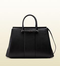 c71b0e2005be0 Gucci - sac à main lady bamboo en cuir 370815AP00N1000 Modèles De Sac, Sac A