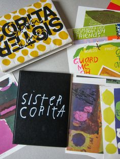 Sister Corita Kent posters from the 1968 Pilgrim Press book from modernsquirrel.ca