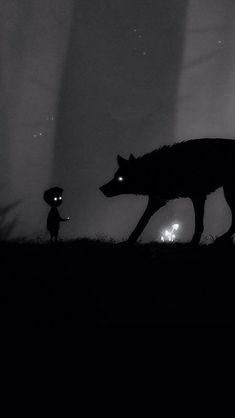 The boy who cried wolf concept art Dark Fantasy Art, Dark Art, Arte Horror, Horror Art, Art Sinistre, Art Noir, Werewolf Art, Wolf Wallpaper, Wallpaper Backgrounds
