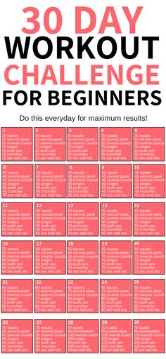 This 30 day workout challenge for beginners is THE BEST! I'm so glad I found this awesome workout challenge to help me lose weight this year! Definitely pinning this for later! plans to lose weight 30 Day Workout Challenge Weight Loss Workout Plan, At Home Workout Plan, Gym Workouts To Lose Weight, 30 Day Workouts, Workout Plans For Women, Weight Loss Challenge, 30 Day Ab Workout, Exercise Workouts, Workout For Girls