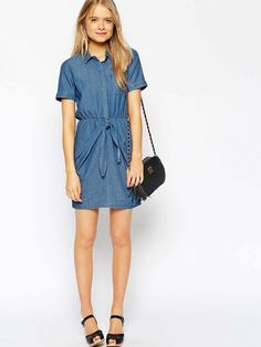 The Most Flattering Dress Trend of the Summer via @WhoWhatWear