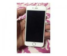 iPhone 6S 16GB Memory New Model Silver Color For Sale In Lahore