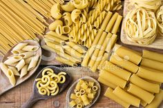 Pasta  with wood background royalty-free stock photo