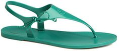 Gucci Katina Rubber Thong Sandals on shopstyle.com
