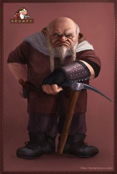 Grumpy | See a Graphic Artists Vivid Depiction of Snow Whites Seven Dwarves In Real Life | Co.Create: Creativity \ Culture \ Commerce