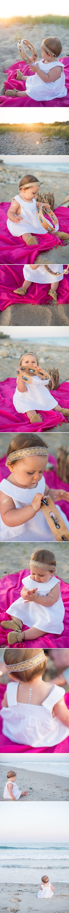 Awe! Flash Tattoos, baby edition! Images from La Petite Peach Blog. So cute!