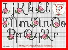 Embroidery Letters, Cross Stitch Embroidery, Monogram Letters, Letters And Numbers, Perler Beads, Cross Stitch Designs, Stitch Patterns, Cross Stitch Letters, Free To Use Images