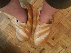 If you've ever put bread on your feet or made a chart out of a banana cream dessert, you might be doing things too literally. Jokes Photos, Silly Photos, Ballet Shoes, Dance Shoes, Shoe Department, Funny Fashion, Funny Outfits, Unique Outfits, Cute Illustration