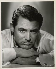 Cary Grant, classic looks, also John Gavin type looks