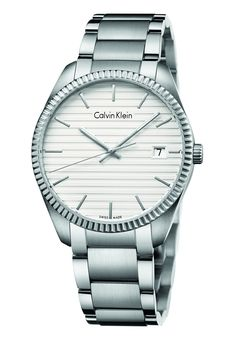 calvin klein klocka dam silver