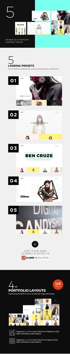 Nobel – Minimal & Versatile Multi-Concept Portfolio / Agency WordPress Theme