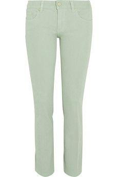 Tory Burch Alexa hoch sitzende Skinny Jeans | NET-A-PORTER