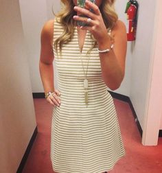 Lilly Pulitzer Brielle Sleeveless Fit & Flare Dress via Penn Square