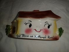 1961 DEFOREST CALIFORNIA PLANTER, GOD BLESS THIS MORTGAGED HOME $42