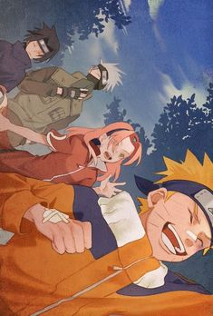 See the best pictures of Team 7 Naruto anime& most famous teams in the anime Naruto Uzumaki Shippuden, Naruto Kakashi, Naruto Team 7, Anime Naruto, Naruto Shippuden Characters, Naruto Comic, Naruto Cute, Anime Characters, Drawing Faces