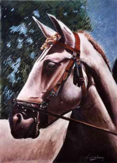 CHEVAL, MON AMI Art Original, France, Oeuvre D'art, Les Oeuvres, Pastels, Horses, Artwork, Animals, Amigos