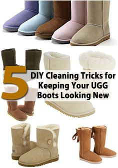 8 DIY Cleaning Tricks for Keeping Your UGG Boots Looking New