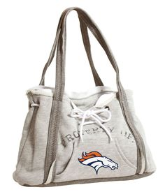 Denver Broncos Hoodie Purse I need this!