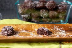 Chocolate coconut macaroons from Smitten Kitchen