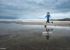 View Stock Photo of Uk Pembrokeshire Whitesands Bay Mature Woman Running The Coast Path. Find premium, high-resolution photos at Getty Images. Woman Running, Running Women, High Resolution Photos, Paths, Coast, Stock Photos, Image