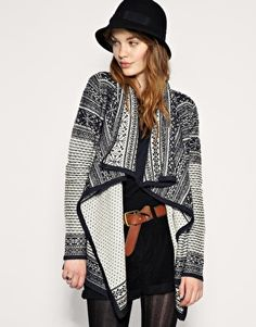ASOS Wrap Blanket Cardigan! You know I want it! $59