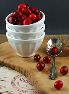 Cranberry, Orange & Ginger Chutney Brie Cups