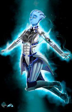 Liara-Mass Effect