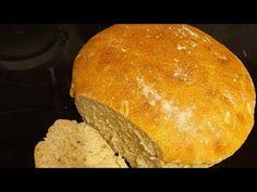 Domácí chléb suprový☝️‼ - YouTube Bread, Pizza, Youtube, Food, Tv, Brot, Essen, Television Set, Baking
