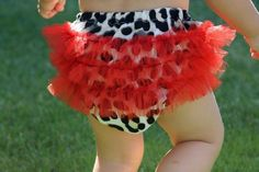 leopard pattern baby bloomer