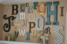 ABC Letter Wall - Fi