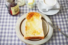 I know it's no better than cake...but I still love a piece of white toast in the morning.